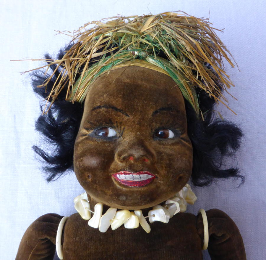 Early Norah Wellings ZuZu South Sea Islander Doll