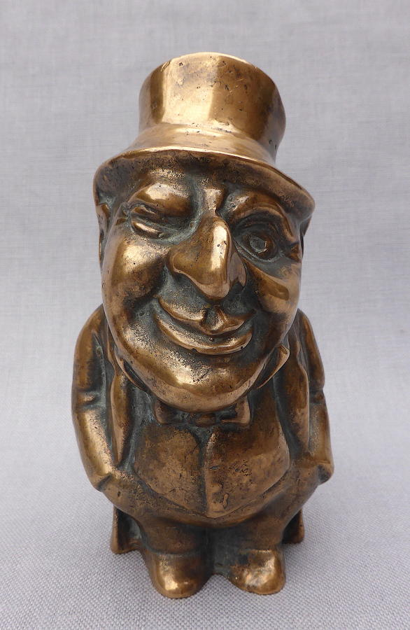 19th century bronze figure of a Jewish banker