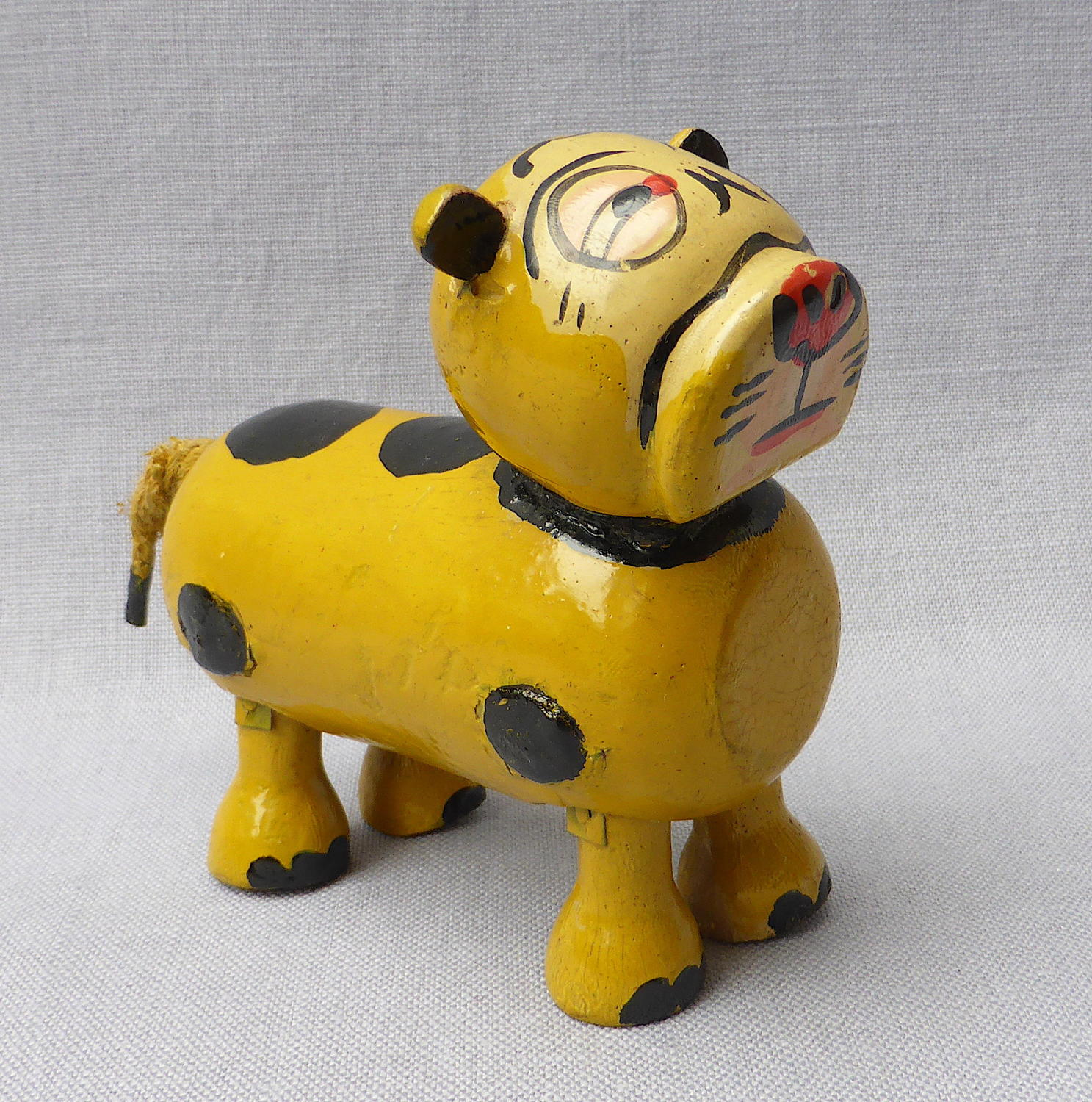 1920s Bonzo ramp walker toy dog