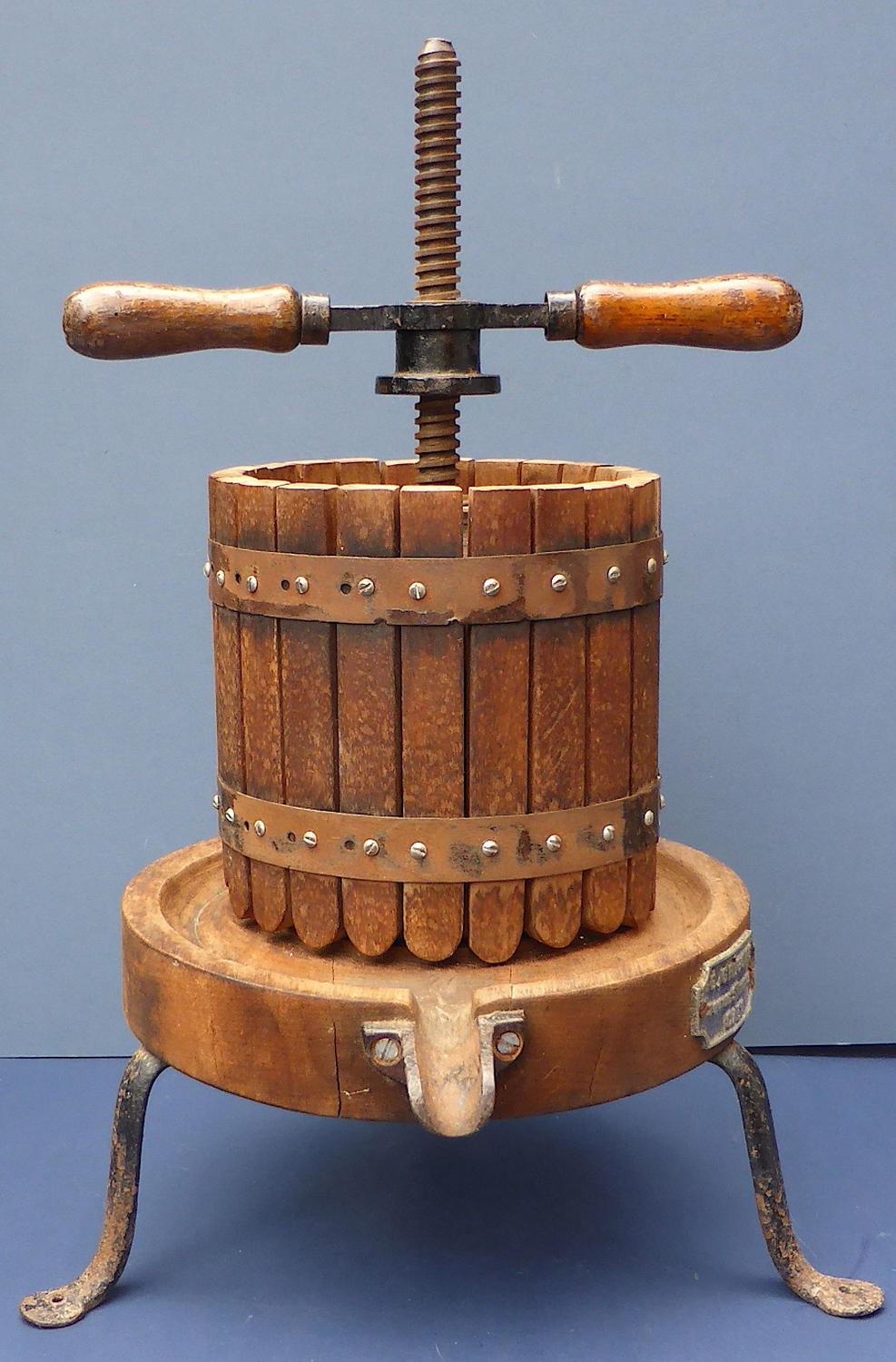 Antique French Fruit Press