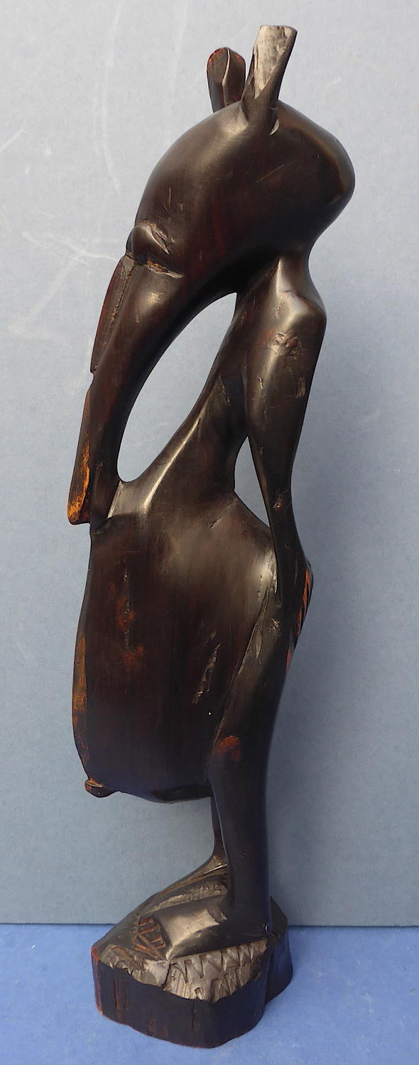 Unusual Bamana African Zoomorphic carved Figure