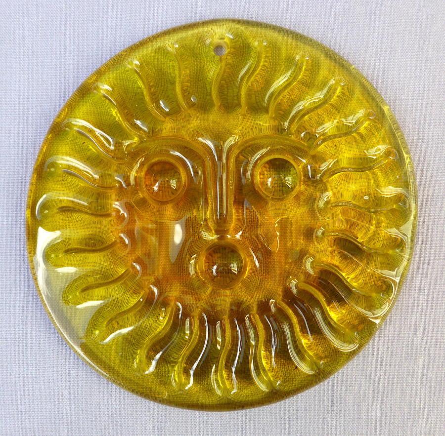 Whitefriars Glass Sunspot Suncatcher by Geoffrey Baxter