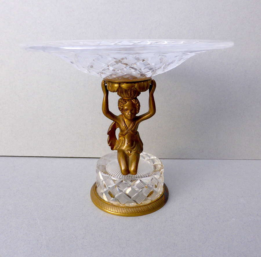French Empire Revival Style Tazza Late 19th Century