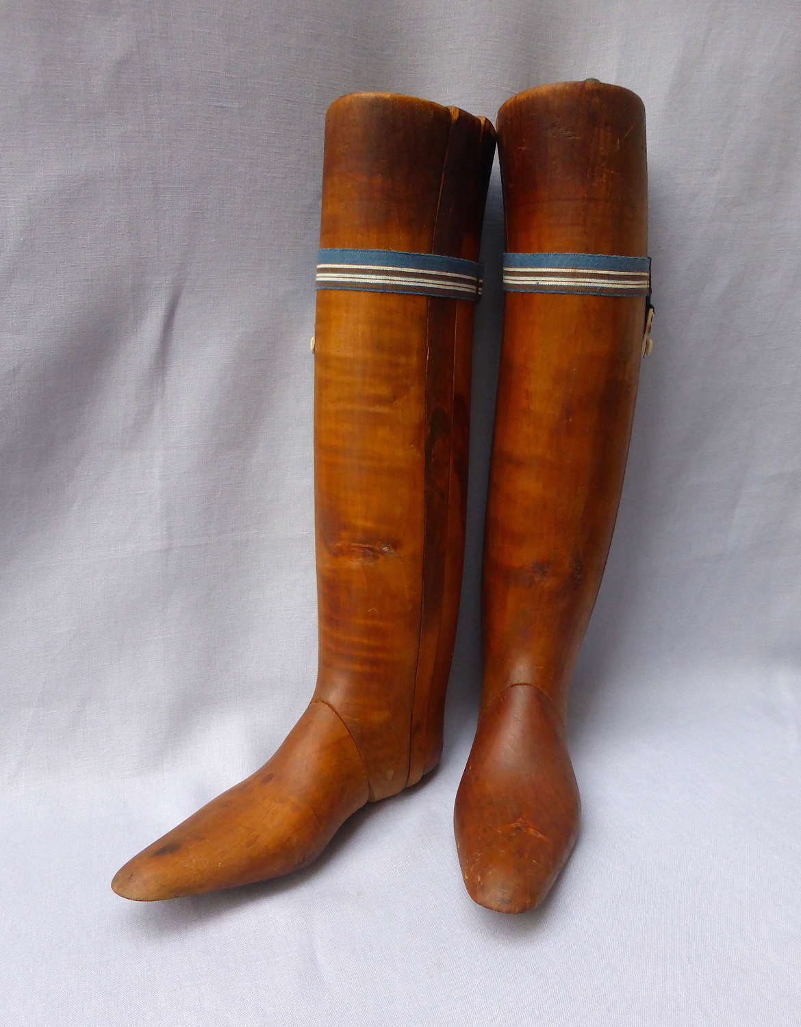 Pair of Early 20th Century  Wooden Boot Trees