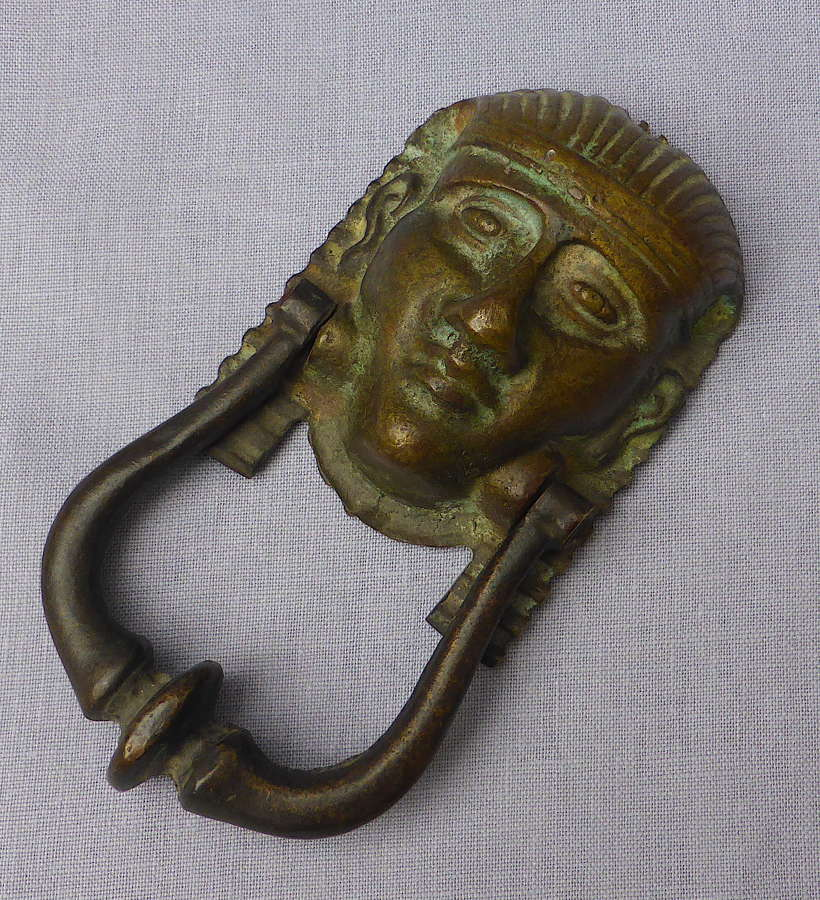 19th Century Egyptian Revival Bronze Sphinx Door Knocker