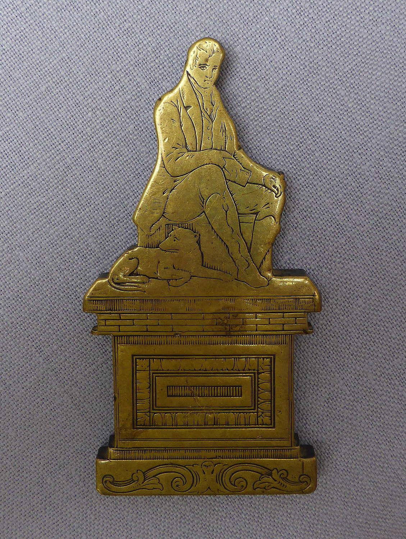 Unusual 19th Century Robert Burns Desk Weight