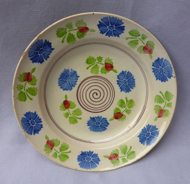 Large Spongeware Bowl