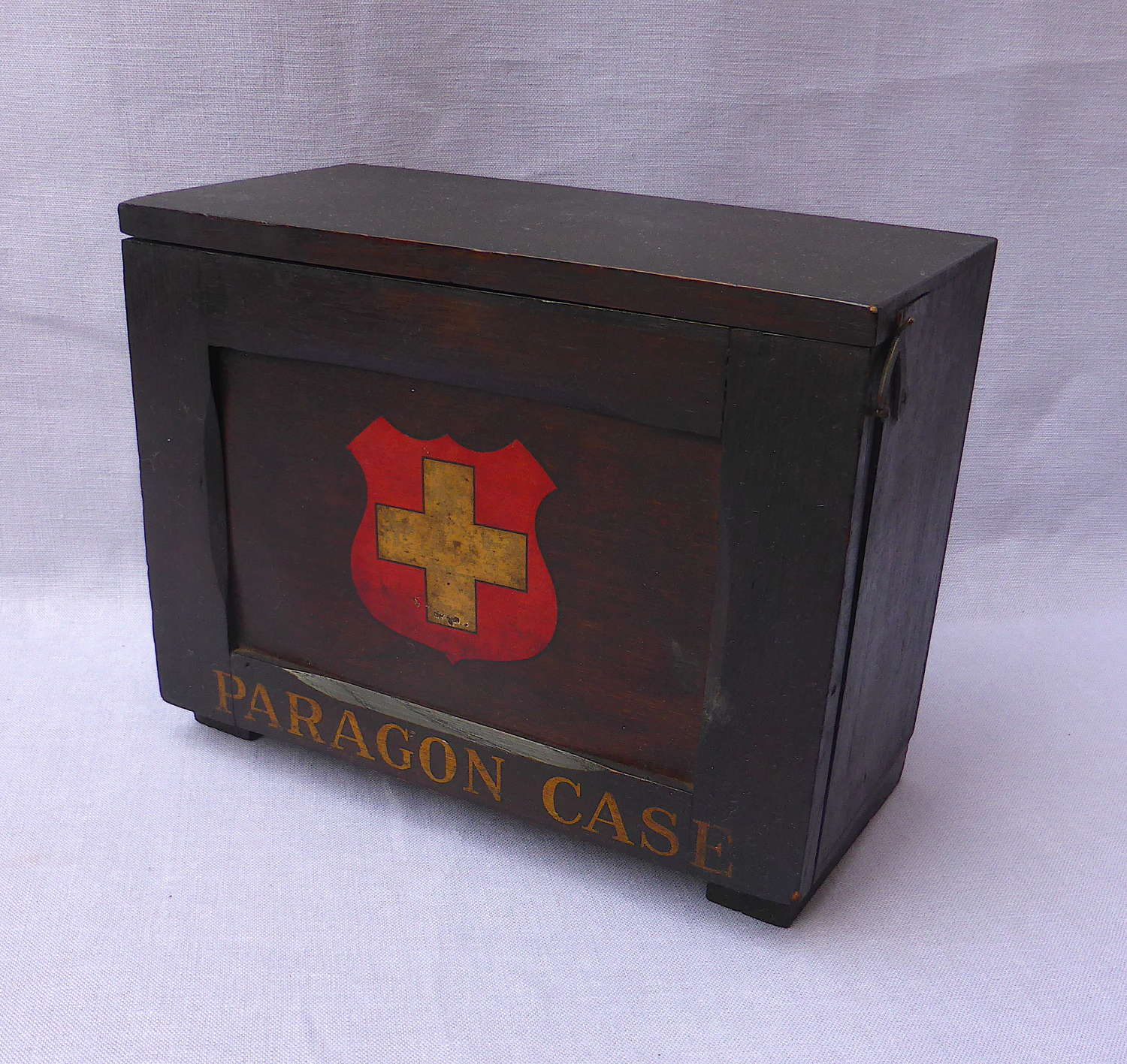 1920s Paragon Industrial First Aid Case