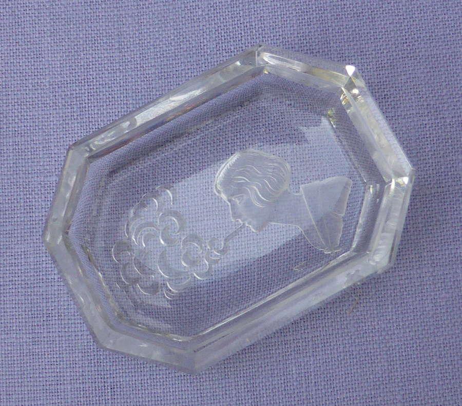 Heinrich Hoffman Intaglio Pin Dish