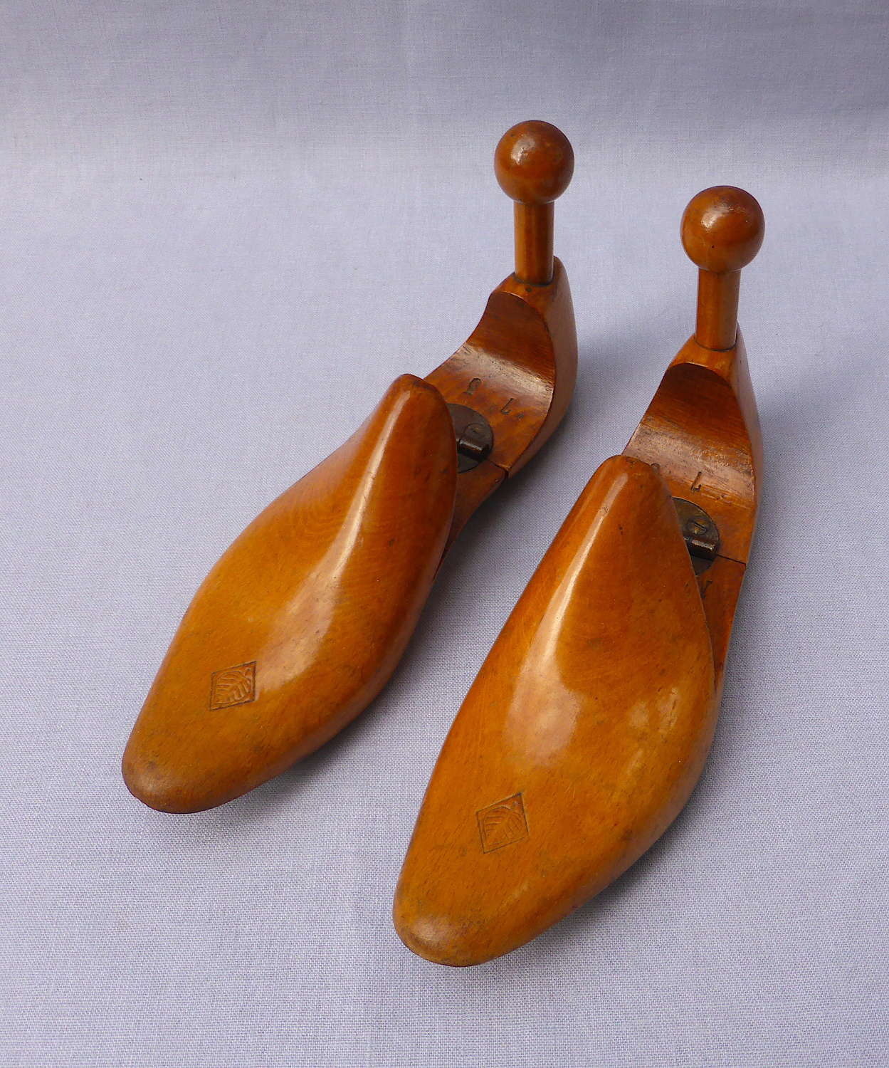 Pair of Early 20th Century Wooden Shoe Lasts