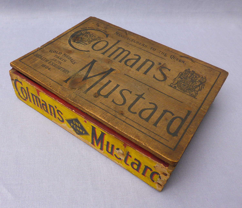 Colman's Mustard Shop Display Box