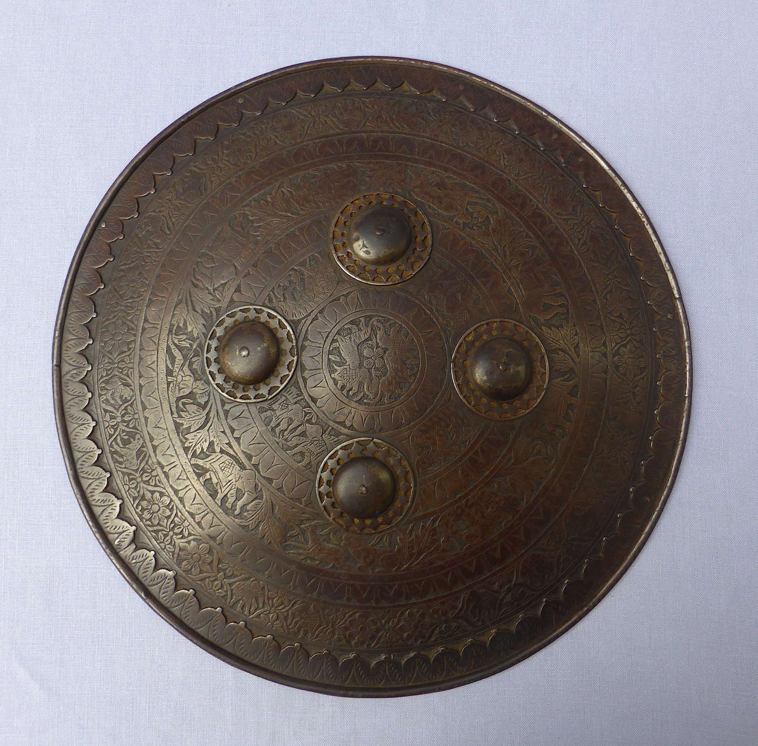 19th Century Indo-Persian Dhal Shield