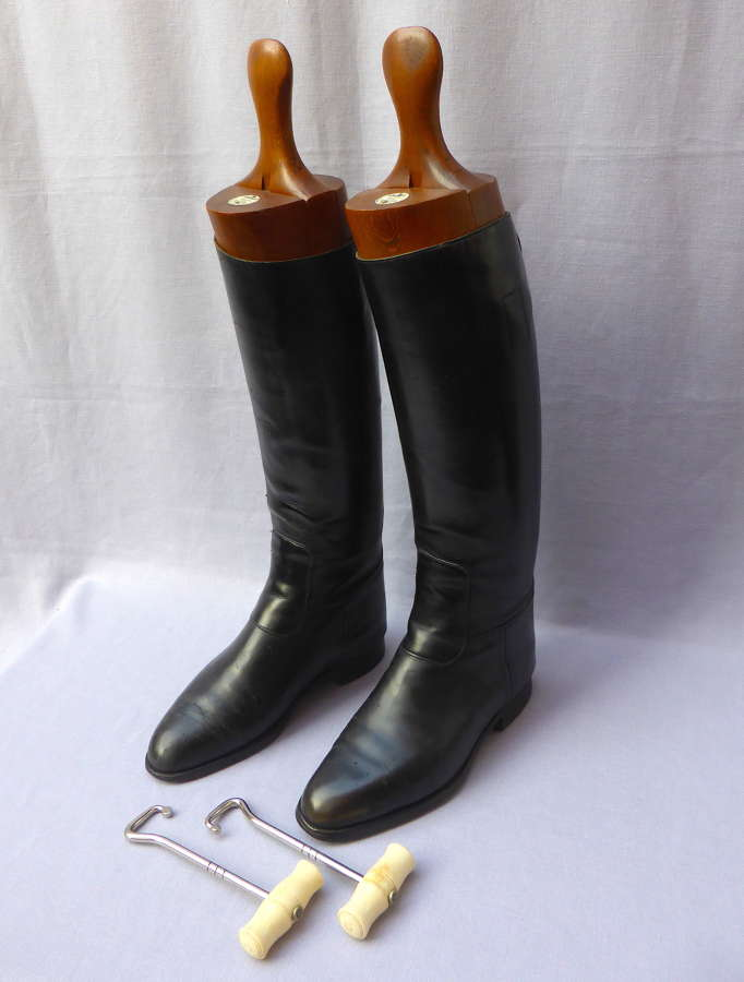 Alkit Leather Riding Boots, Lasts & Pulls