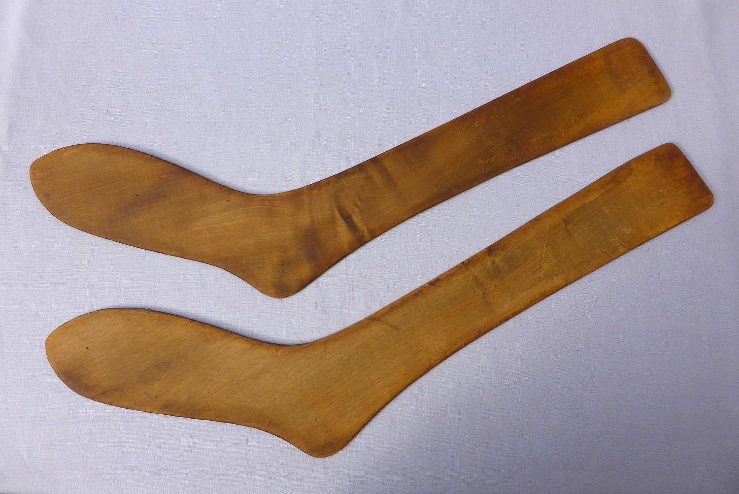 Pair of Factory Stocking Stretchers or Sock Forms