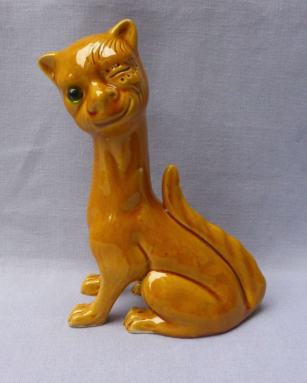 Aller Vale Pottery Grotesque Winking Cat