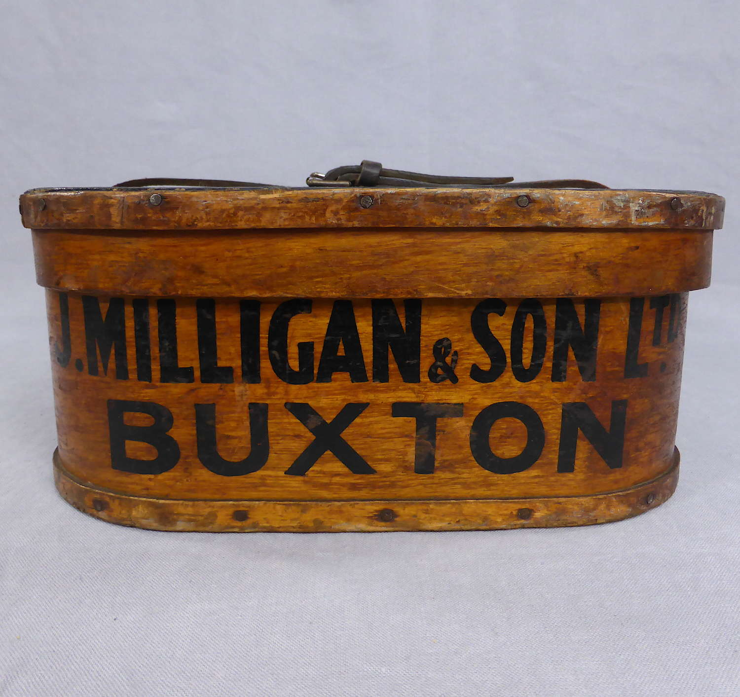 Edwardian Bent Wood Drapery Box