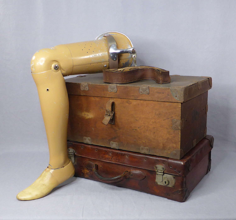 1950s Prosthetic Leg