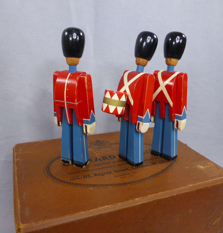 Troop of Kay Bojesen Wooden Soldiers