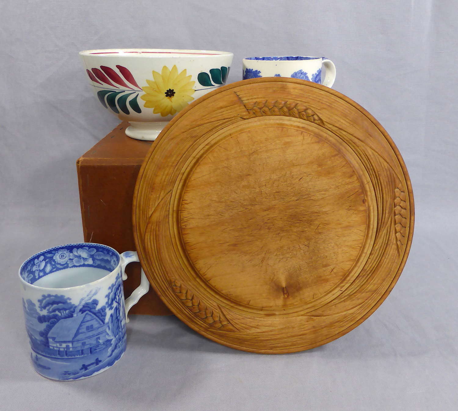 Carved Bread Board
