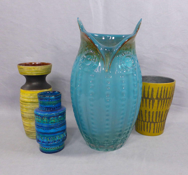 Large Murano Art Glass Owl