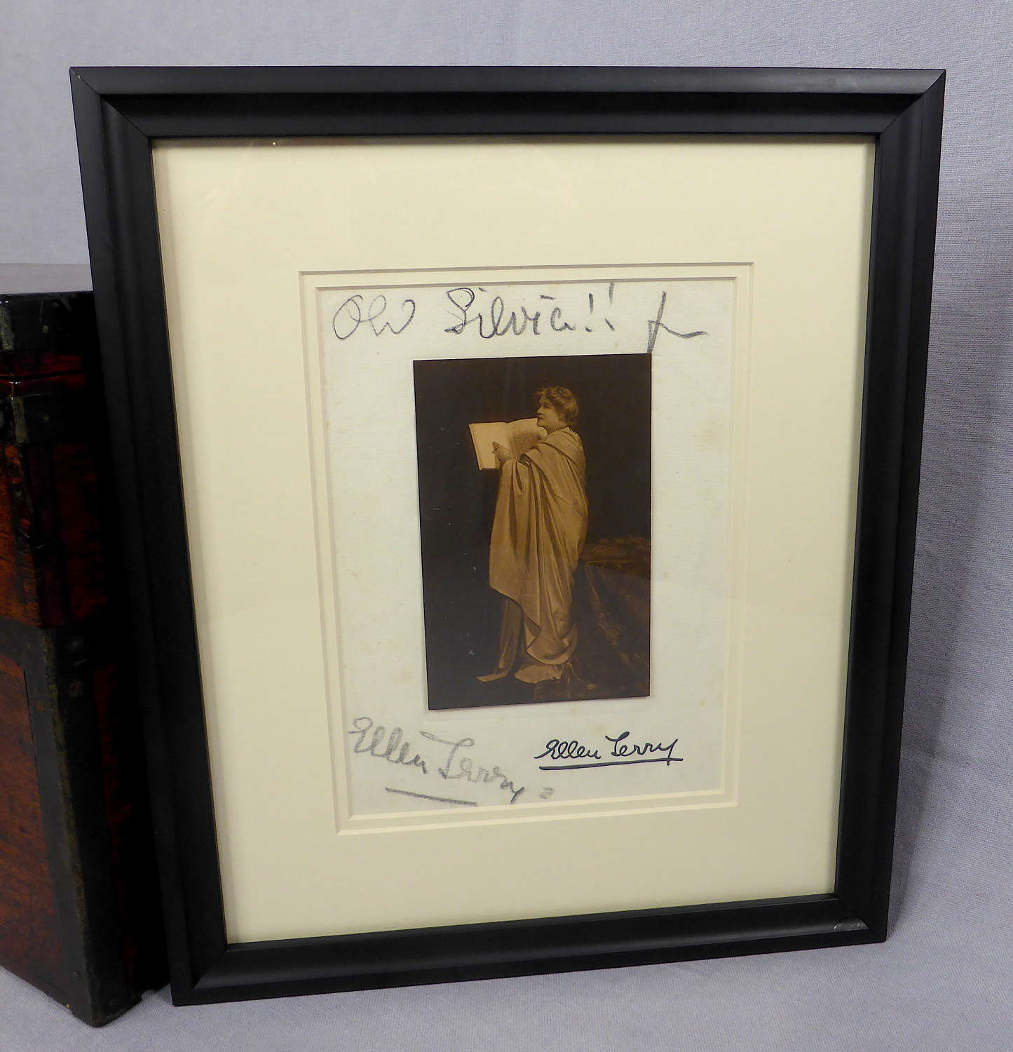 Signed Photograph of Ellen Terry