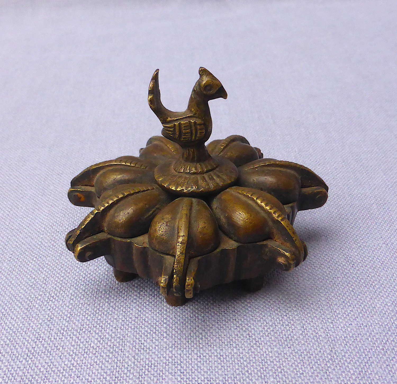 Bronze Kumkum Box