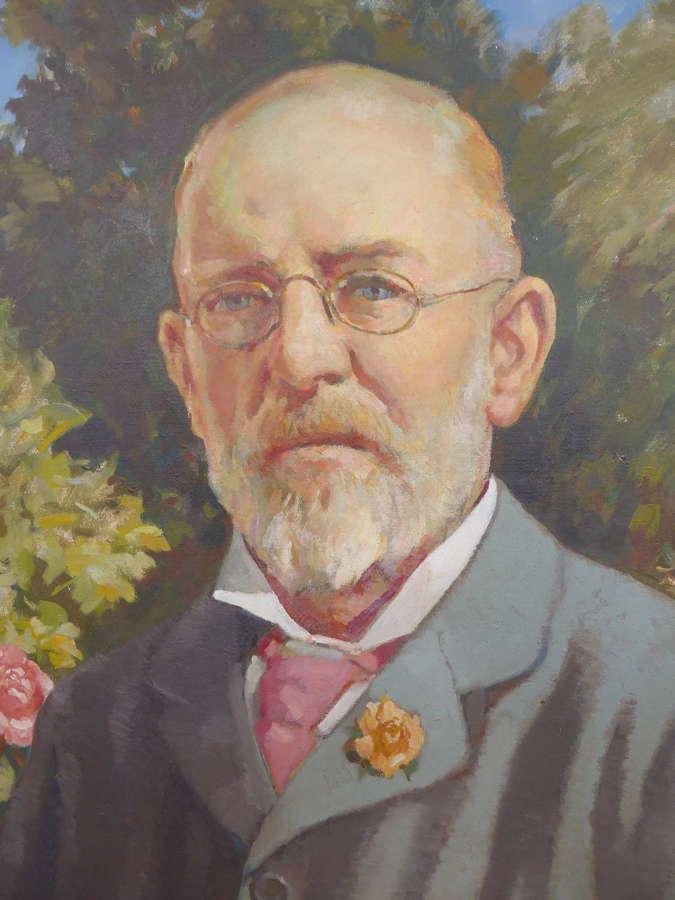 Portrait by Stuart Tresilian