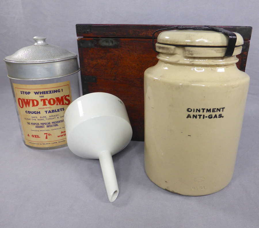 Anti-Gas ointment jar