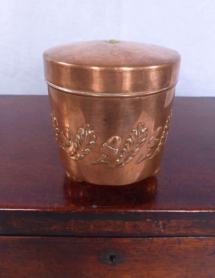 Copper string box