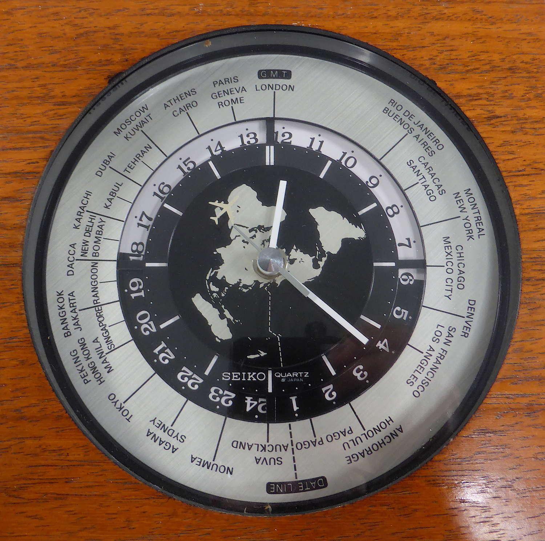 Fabulous Seiko World Time Clock
